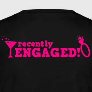 recently engaged with diamond ring! Long Sleeve Shirts - Women's Long Sleeve Jersey T-Shirt