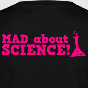 mad about science ! with test tube Long Sleeve Shirts - Women's Long Sleeve Jersey T-Shirt