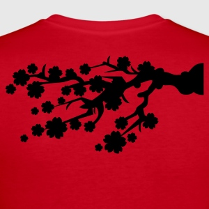 Cherry Blossom branch Long Sleeve Shirts - Women's Long Sleeve Jersey T-Shirt