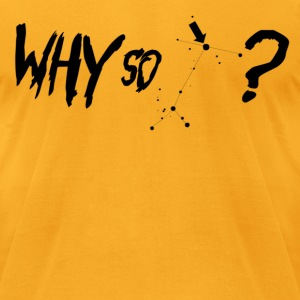 Why So Sirius? Black | Mens AA Tee - Men's T-Shirt by American Apparel