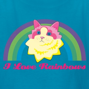 Rainbow Cat Kids' Shirts - Kids' T-Shirt