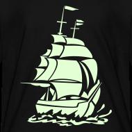 Design ~ CARIBBEAN PIRATE GHOST SHIP - Glow-in-The-Dark
