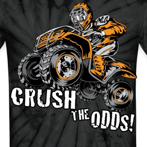 Crush The Odds - Unisex Tie Dye T-Shirt