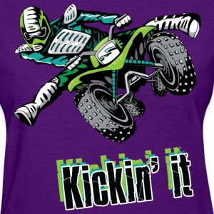 Kickin' It - Women's T-Shirt