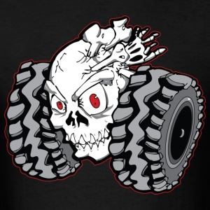 Off-Road Skull Roller T-Shirts - Men's T-Shirt