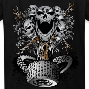Skull Tree - Kids' T-Shirt