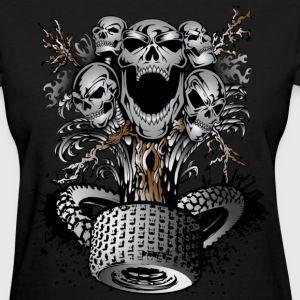 Skull Tree - Women's T-Shirt