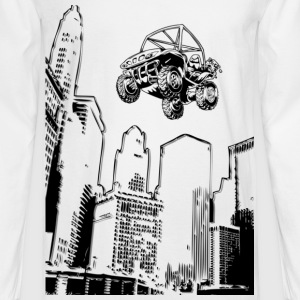 Cityscraper UTV - Men's Long Sleeve T-Shirt