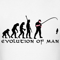 evolution_angler_b_2c_fisch T-Shirts