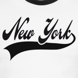 new york T-Shirts - Men's Ringer T-Shirt