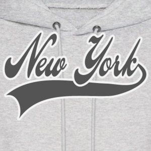new york - grey Hoodies - Men's Hoodie