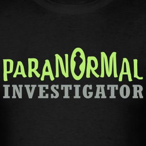 Paranormal Investigator T-Shirts - Men's T-Shirt