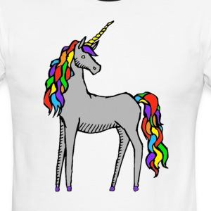 Unicorn Rainbow T-Shirts - Men's Ringer T-Shirt