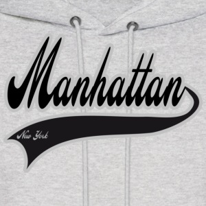 manhattan new york Hoodies - Men's Hoodie