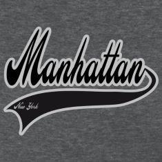 manhattan new york Women's T-Shirts