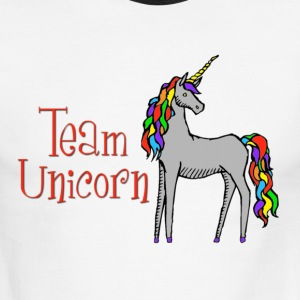 Team Unicorn T-Shirts - Men's Ringer T-Shirt