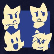 Design ~ Men's Four Cats T-Shirt