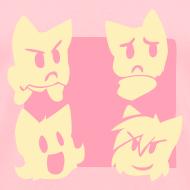 Design ~ Girls' Four Cats T-Shirt