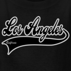 los angeles california Kids' Shirts
