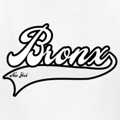 bronx new york white Kids' Shirts