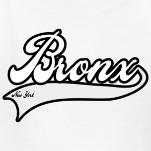 bronx new york white Kids' Shirts - Kids' T-Shirt