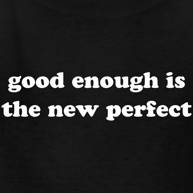 The New Perfect Kids' Tee