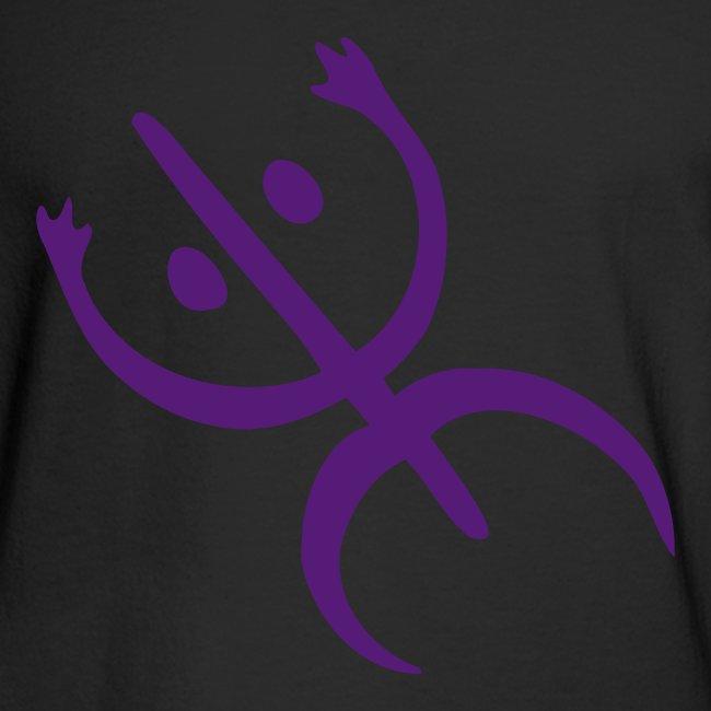 Tesorotees El Coqui Taino Symbol Mens Long Sleeve T Shirt
