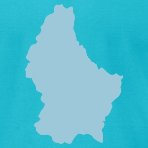 Luxembourg T-Shirts - Men's T-Shirt by American Apparel