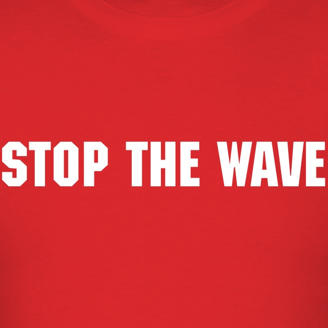 Stop The Wave Mens Standard Shirt