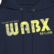 Design ~ WABX Men's Hooded Sweatshirt