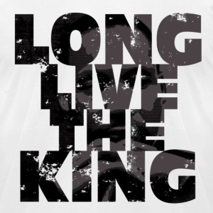 Long Live the King - Men's T-Shirt by American Apparel