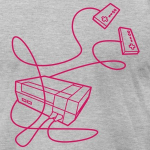NES Console T-Shirts - Men's T-Shirt by American Apparel