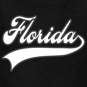 florida white Kids' Shirts - Kids' T-Shirt