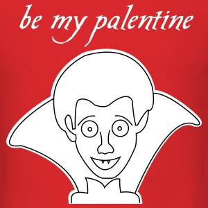 Pale Vampire Valentines day t-shirts - Men's T-Shirt