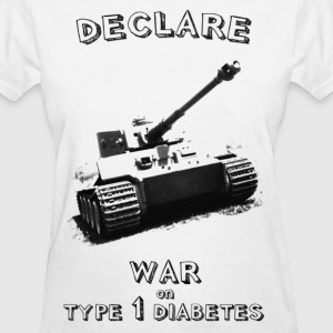 Start a war against Type 1 Diabetes! Women's T-Shirts - Women's T-Shirt