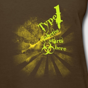 Type 1 Diabetes starts here! - Women's T-Shirt