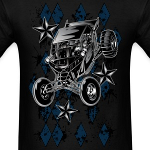 Checker Board Buggy - Men's T-Shirt