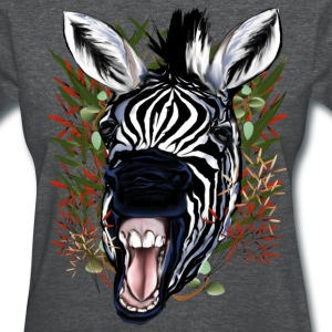 The Laughing Zebra - Women's T-Shirt