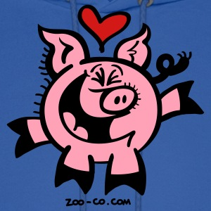 Broken Hearted Pig Hoodies - Men's Hoodie