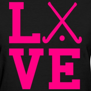 love field hockey Women's T-Shirts - Women's T-Shirt