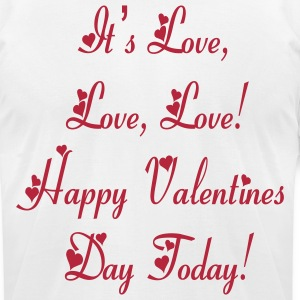 its_love_love_love T-Shirts - Men's T-Shirt by American Apparel