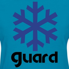 winter guard snowflake Women's T-Shirts