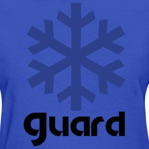 winter guard snowflake Women's T-Shirts - Women's T-Shirt
