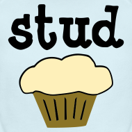 Design ~ Stud Muffin Cute Baby One-Piece Funny T-Shirt