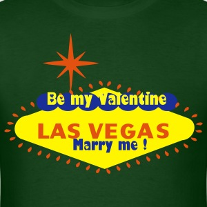 Customize Be my Valentine & Marry Me - Men's T-Shirt