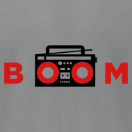 Design ~ bOOmbox - Choose your own light AA shirt color