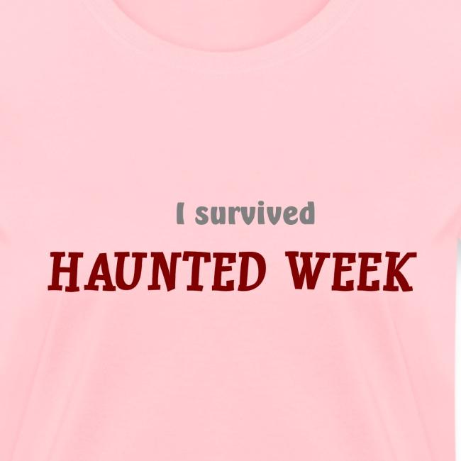 Haunted Week women's standard weight T