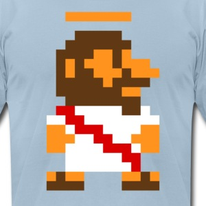 8Bit Jesus - Men's T-Shirt by American Apparel