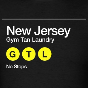 Men's GTL New Jersey Non-Stop Subway Shirt - Men's T-Shirt