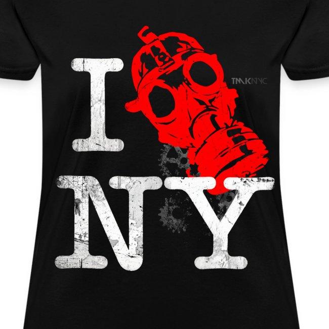 Womens NYC Industrial tee